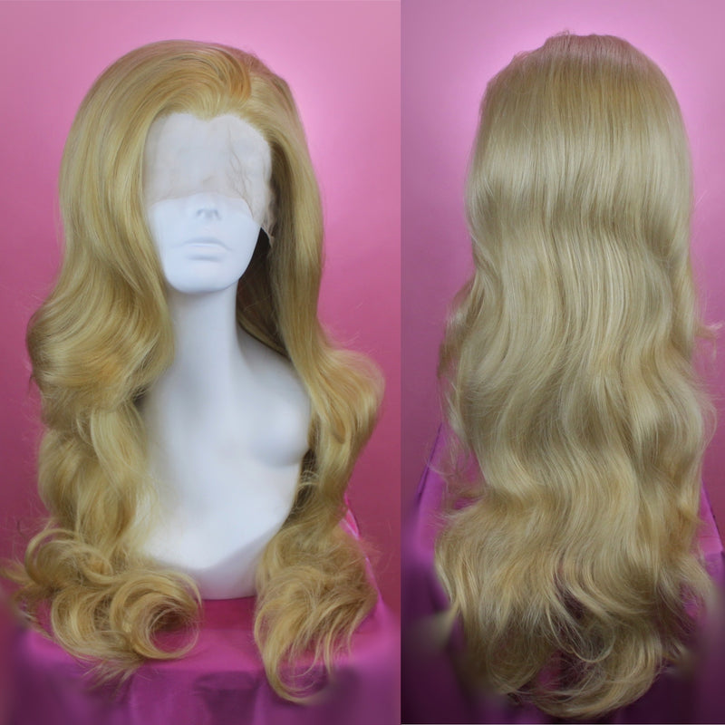 Evelyn Caramel Blonde Lace Front Wig
