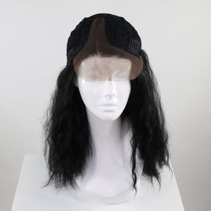 Jaclyn Black Lace Closure Wig