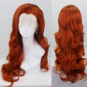 Evelyn Bright Ginger Lace Front Wig
