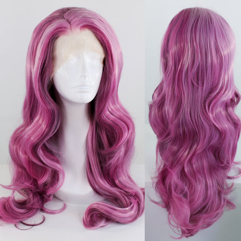 Evelyn *Deluxe* Purple Dream Lace Front Wig