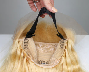 Strawberry Blonde Custom Dyed Human Hair Lace Front Wig