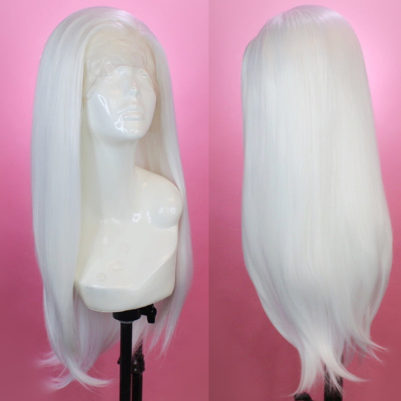 Charlotte White Lace Front Wig