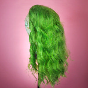 Harlow Wicked Green Lace Front Wig