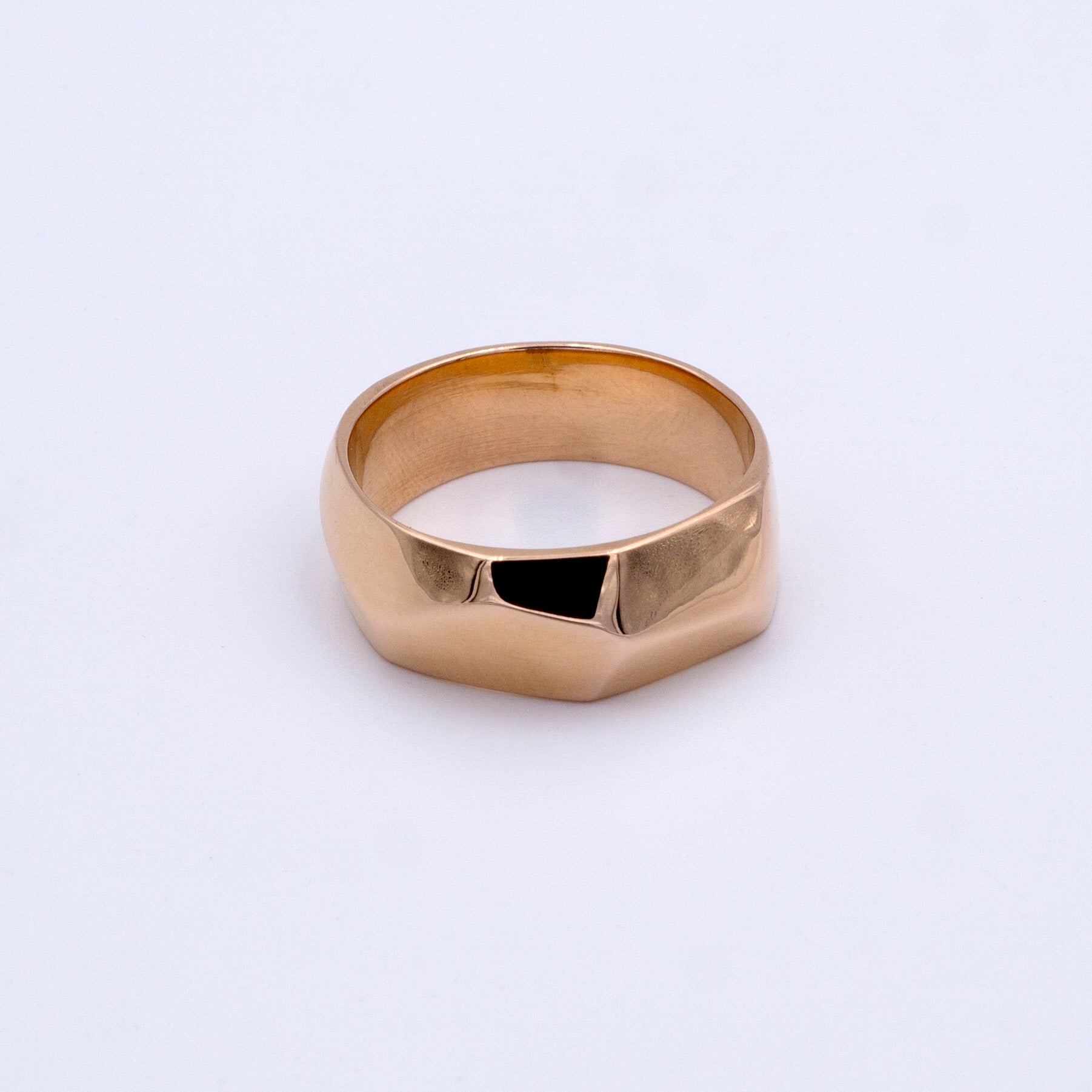 Faceted Ring Small