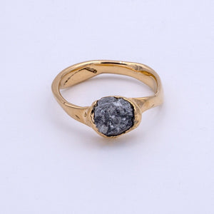 Uncut Diamond Ring 1