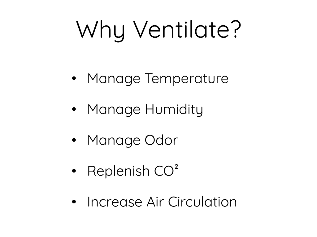 Ventilation Guide- Why ventilate?