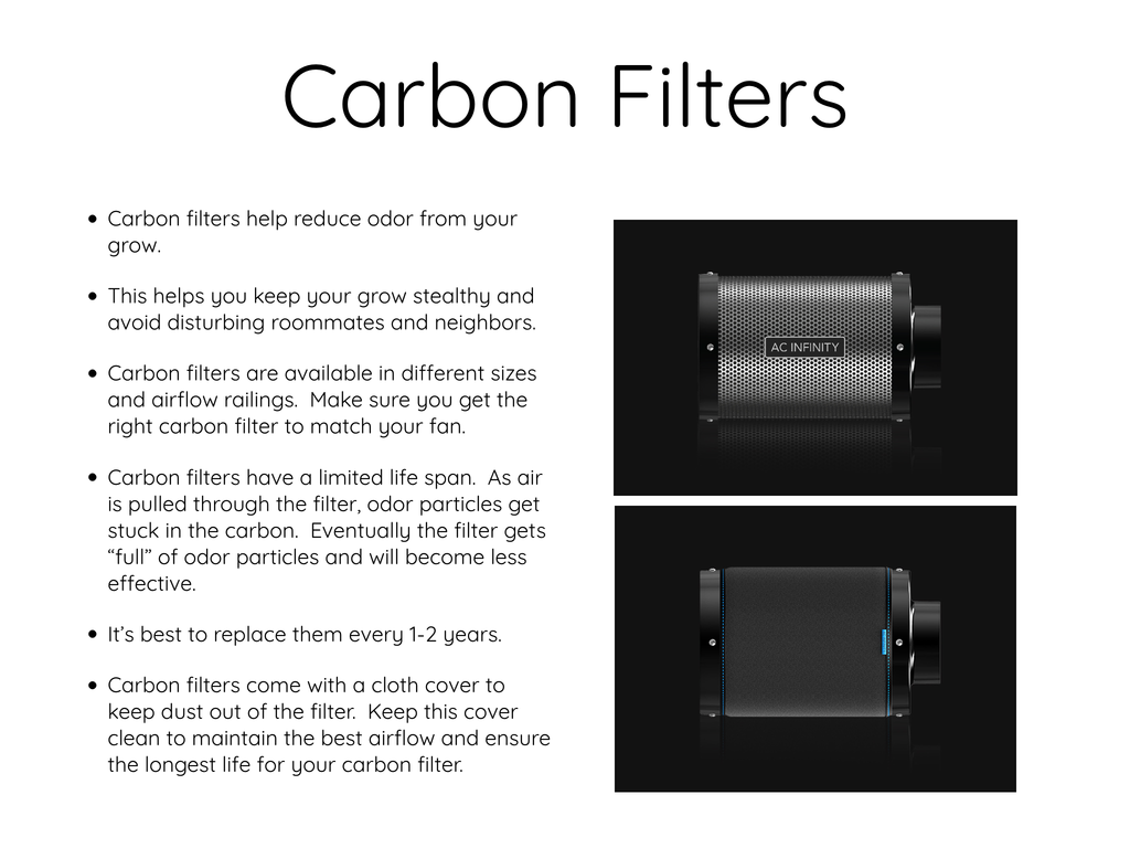 Ventilation Guide- Carbon Filters