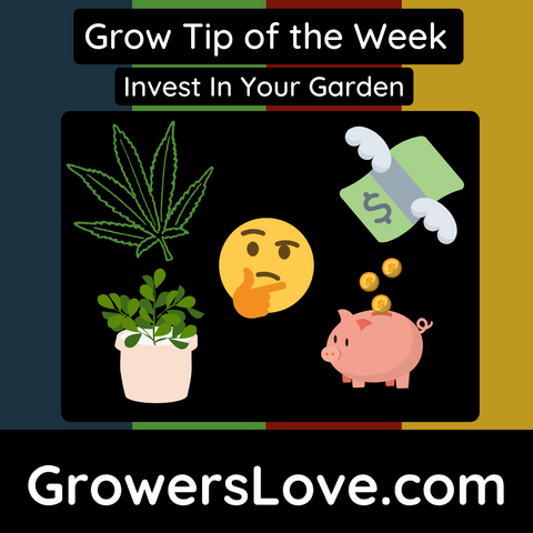 Grow Tip of the Week Invest in your Garden