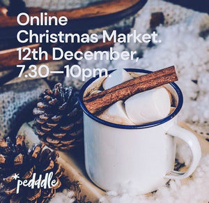 WorkSpace is part of the Pedddle Online Christmas Market on 12th December!