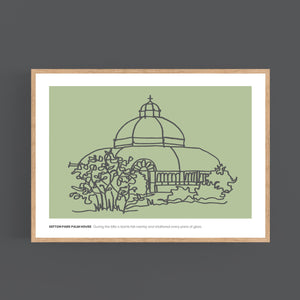 New Sefton Park Palm House Print