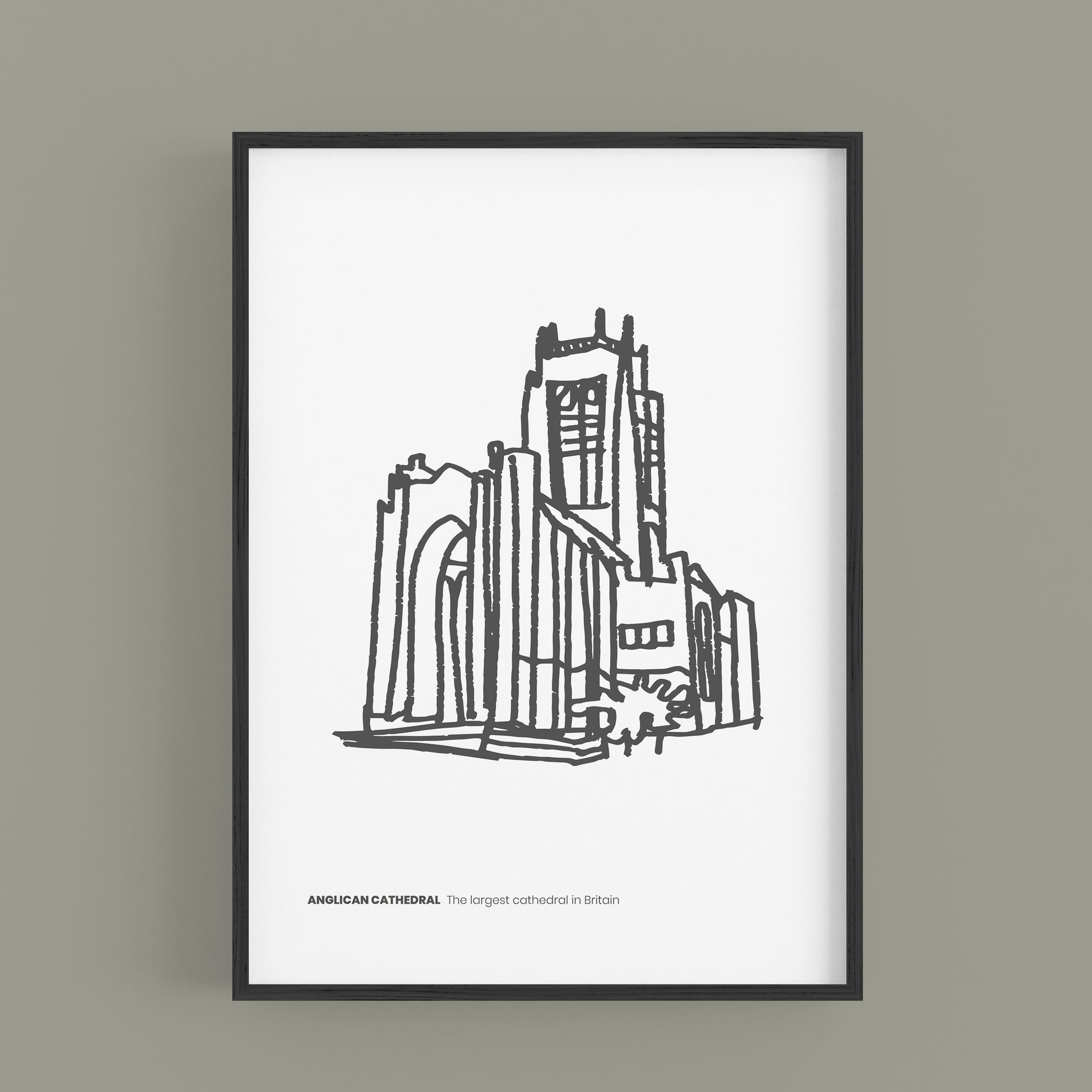 Liverpool - Anglican Cathedral B&W Edition