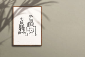 LIVERPOOL PRINT The Liver Building