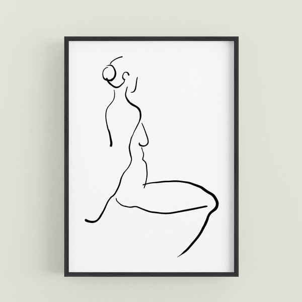 ABSTRACT FIGURE Figure Three B&W