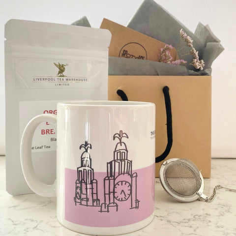 TEATIME GIFT BAG The Liver Building