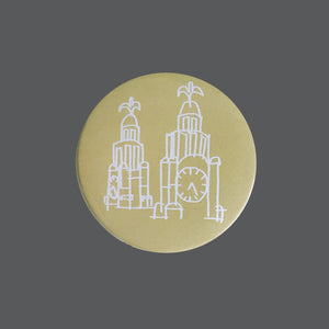 Liverpool - Pocket Mirror Liver Building