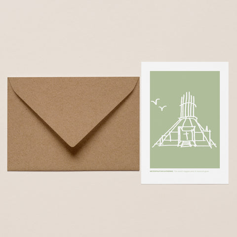 Metropolitan Cathedral Greeting Card