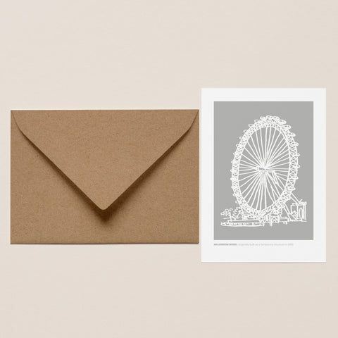 Millennium Wheel Greeting Card