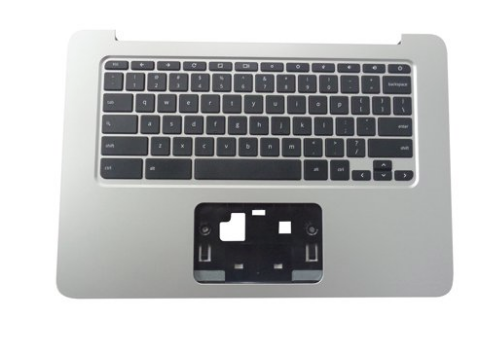 HP Chromebook 14 G4 Palmrest Keyboard Assembly Silver - 834913-001