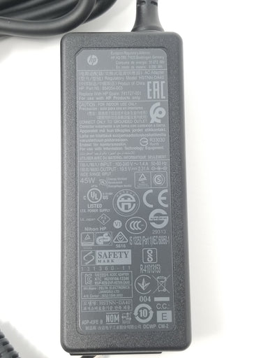 HP PAVILION 15-AU091NR Smart AC Power Adapter / Charger (45 watt) - 741553-850 / 741727-001 / 854054-003