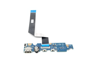 HP Pavilion x360 M1 USB Audio & Volume buttons board w/cable - 856099-001