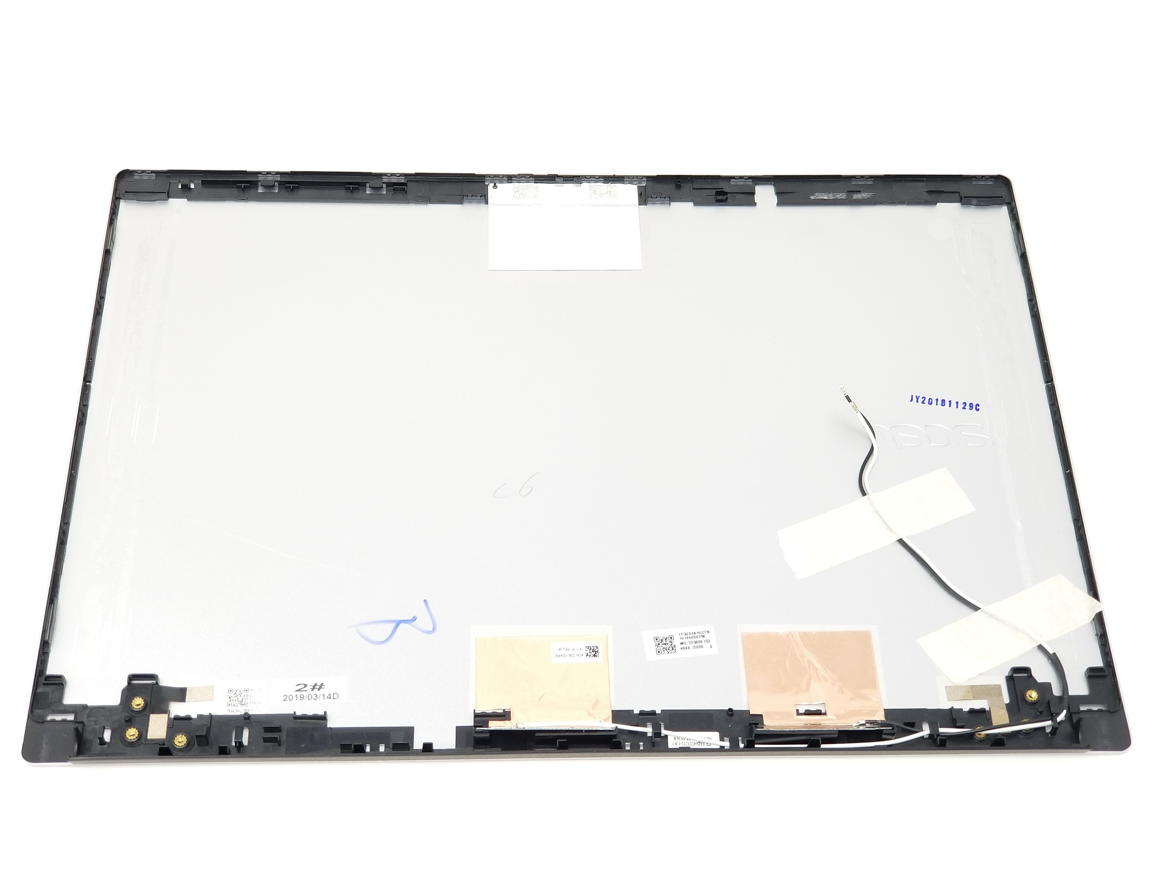 Acer Chromebook 14 CB514-1H LCD Back Cover (Silver) w/Antenna - 60.H1LN7.002
