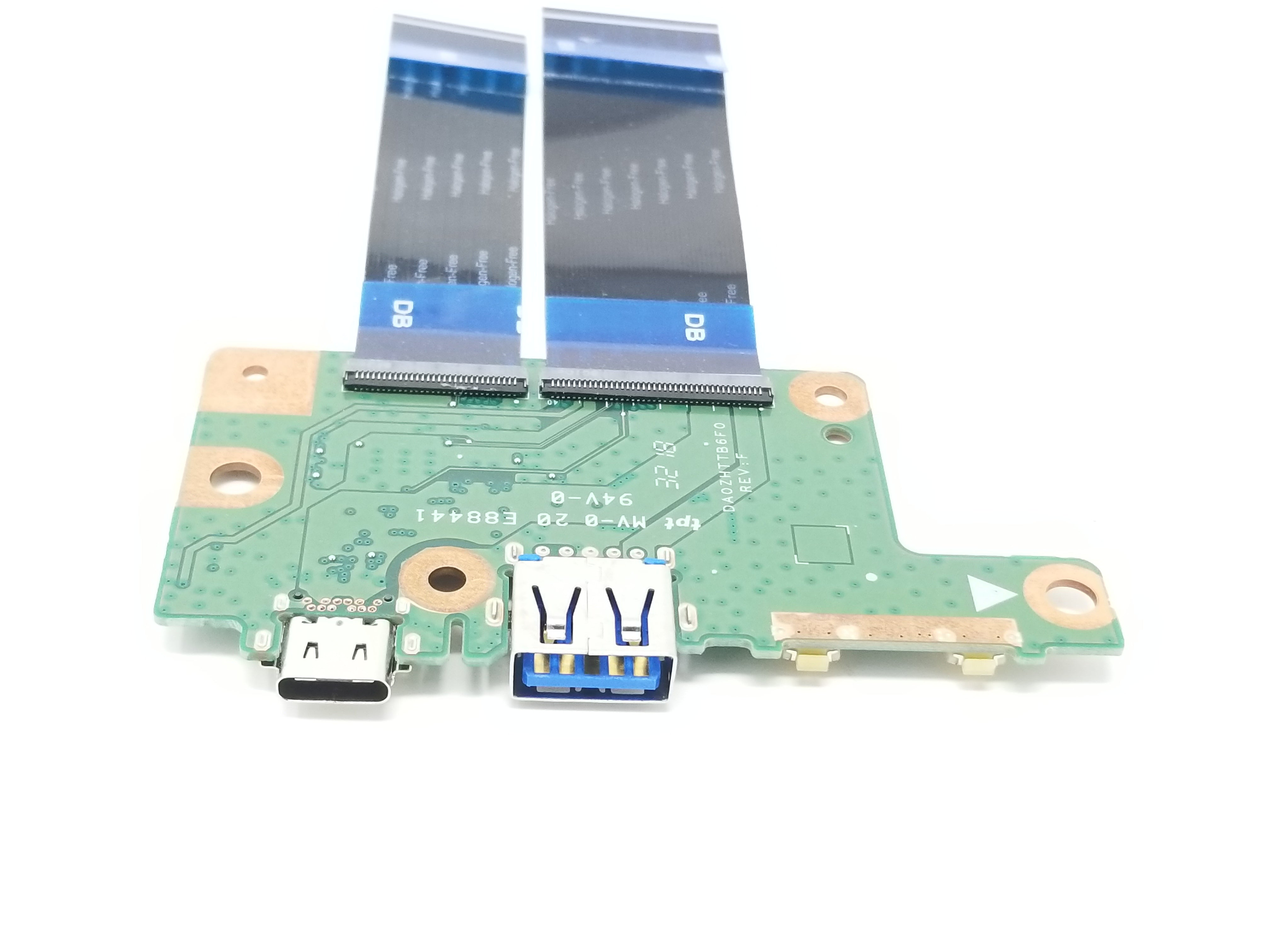 Acer Chromebook 11 R751T Series USB Board Assembly w/Cables - 55.GPZN7.001