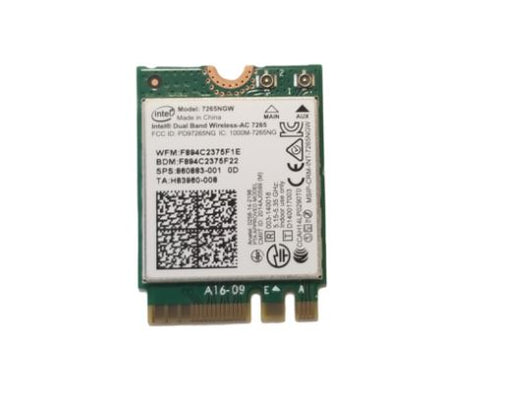 Acer Chromebook 11 C731 WiFi Card - KE.11A0N.001 / 7265NGW