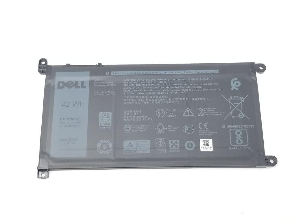 Dell Chromebook 11 5190 Battery 51KD7 / CN: 0FY8XM