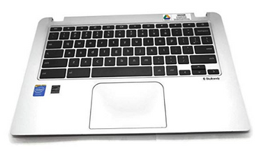 "Toshiba Chromebook CB30-B Series 13.3"" Palmrest Touchpad Keyboard A000380170"