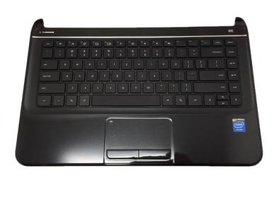 HP Pavilion 14 Chromebook Palmrest Keyboard Assembly - 708136-001