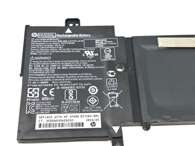 HP X360 310 G2 Battery 3-Cell 48Wh 4.21Ah Li-ion HV03XL - 818418-421 / 817184-005.