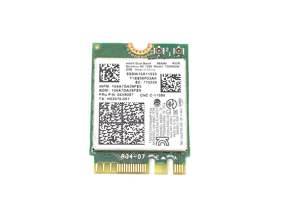 Intel Wireless Card / WAN Adapter 7260NGW - FRU: 04X6087