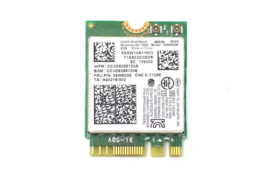 Intel Dual Band Wireless Bluetooth 4.0 Card 7260NGW  FRU: 04X6059 / H420218-002