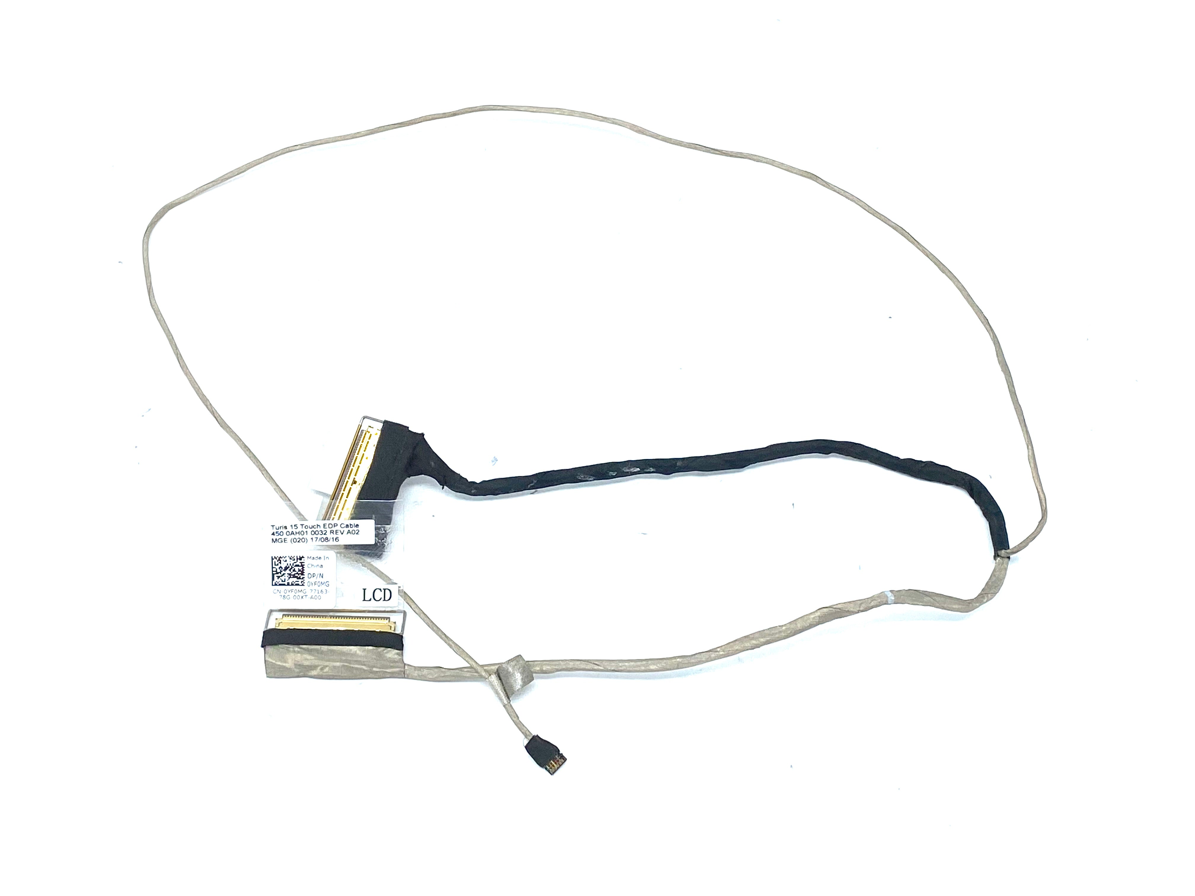 Dell Inspiron 15 3565 / 3567 LCD Cable (For Touch Models - 40 Pin) - 0YF0MG / YF0MG / 450.0AH01.0032.