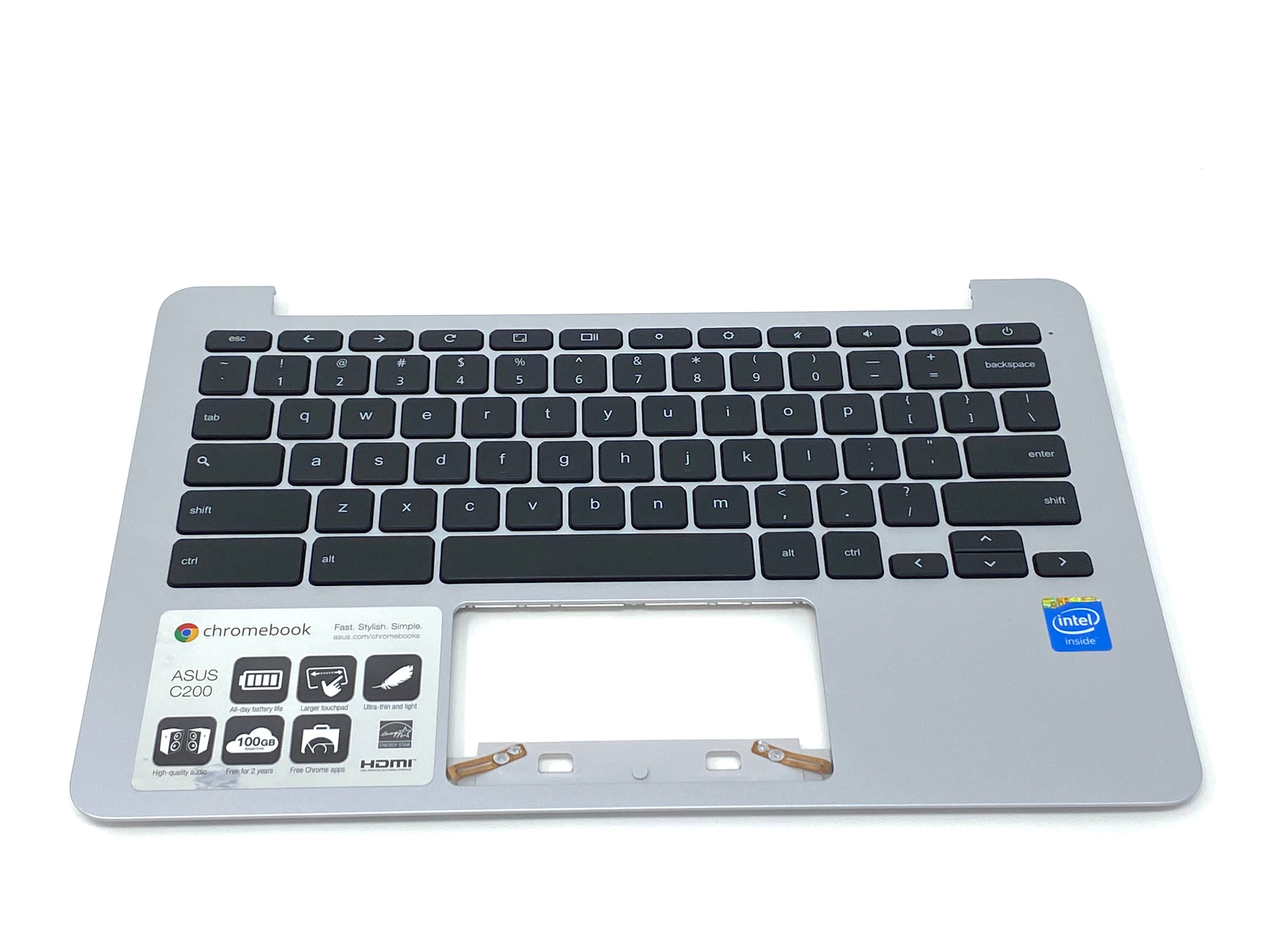 Asus Chromebook 11 C200MA Palmrest Keyboard Assembly - 13NB05M1AP0301.