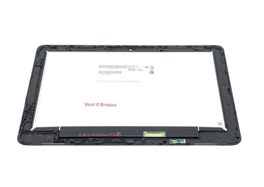 HP Chromebook X360 11 G2 EE LCD Digitizer Assembly with Frame & Digitizer Board - L53205-001 / L53206-001 / NV116WHM-T10
