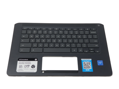 HP Chromebook 14-CA061DX Palmrest Keyboard Assembly (US) - L17093-001