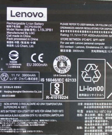 Lenovo Chromebook N22-20 Series L15L3PB1 11.1v Battery 5B10K88049 - Exact Parts