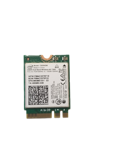 Acer Chromebook 11 R751T Series WiFi Card - KE.11A0N.001 / 7265NGW