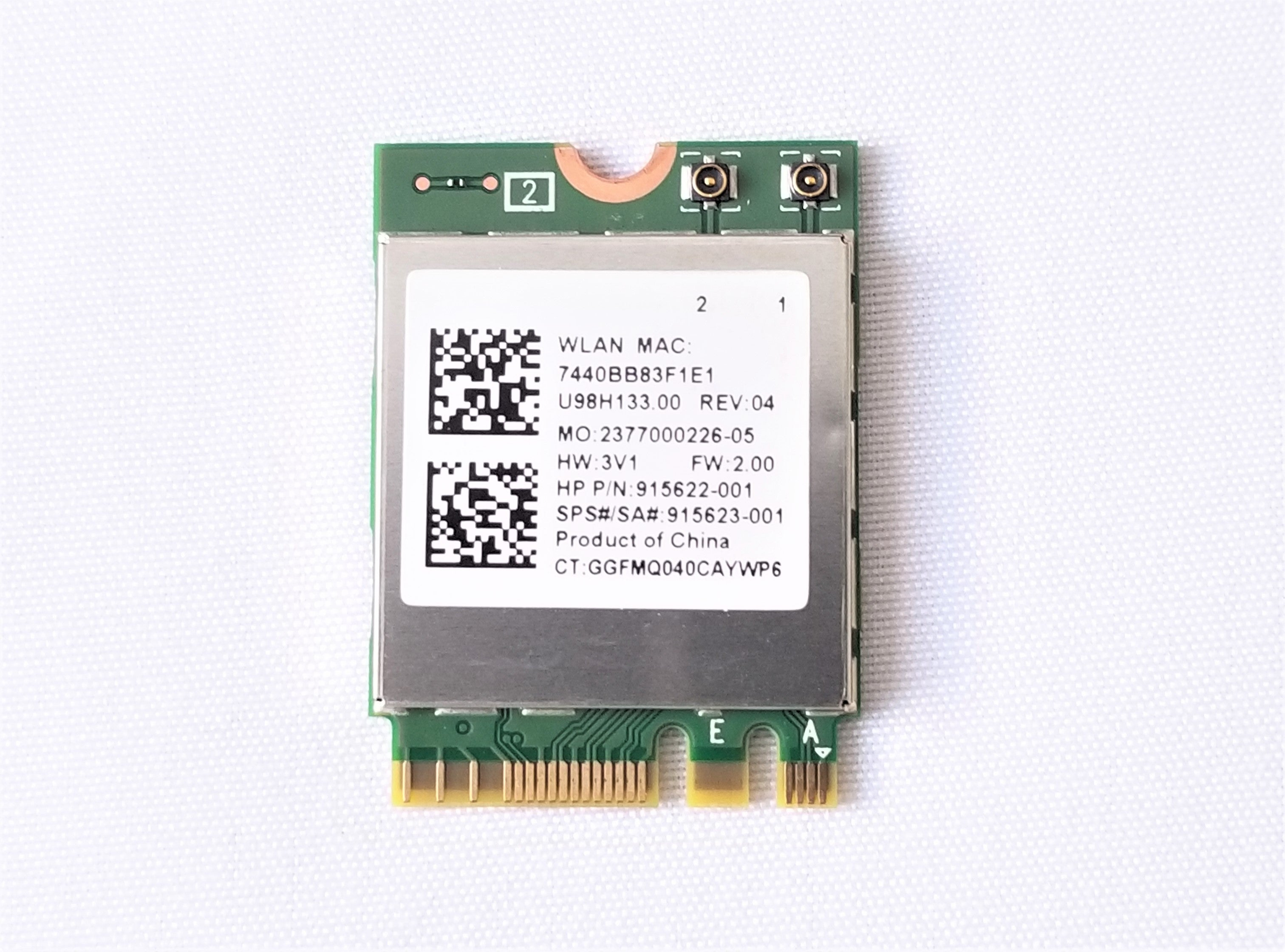 HP STREAM 11-AH117WM WiFi Card / Wireless LAN - 915622-001