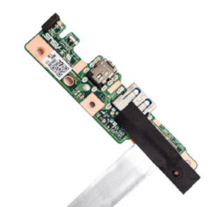 Asus Chromebook 11 C202 USB / DC Power Input Jack Daughterboard (OEM) - Exact Parts