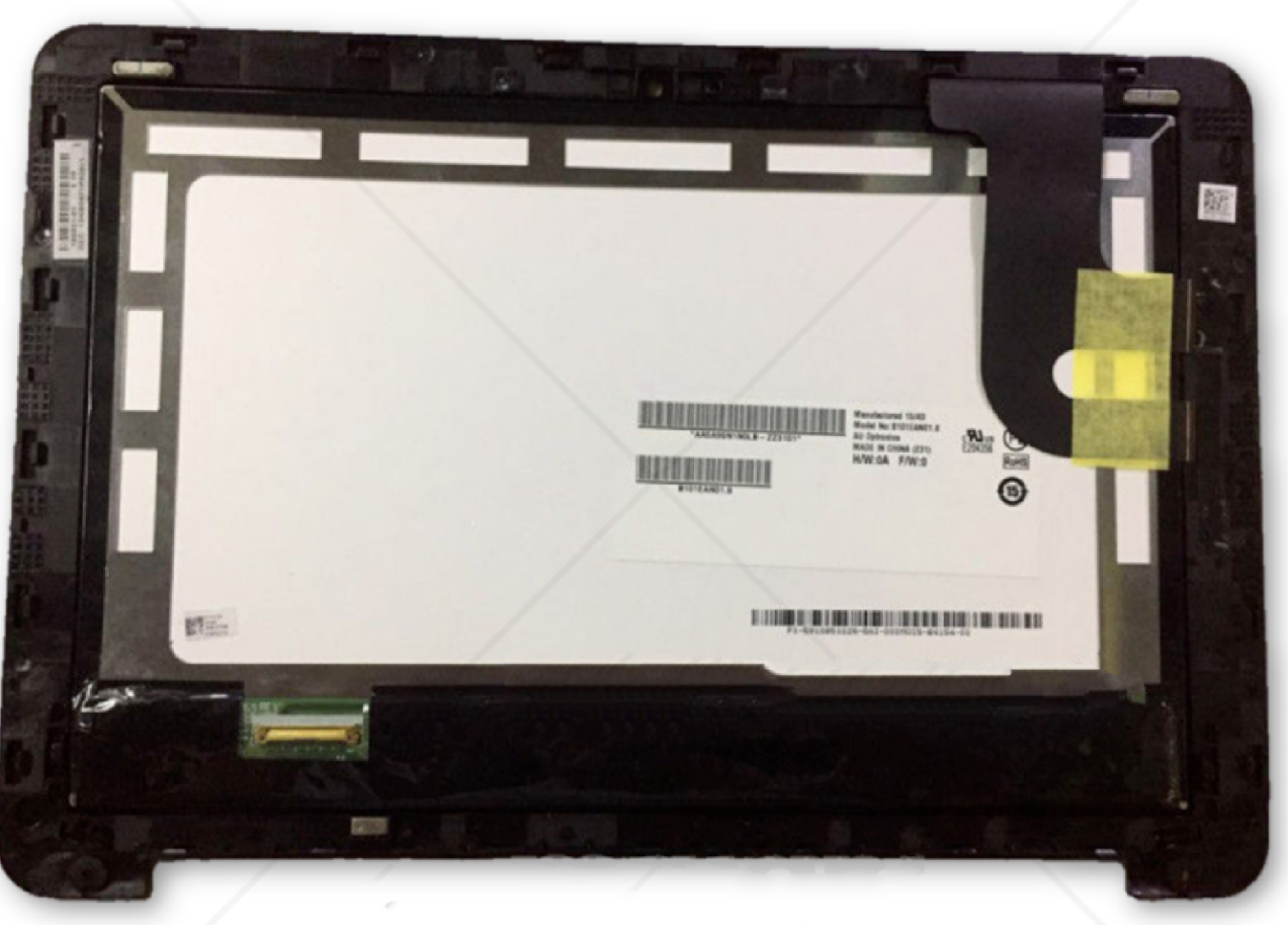 "ASUS Chromebook C100PA LCD Touch Assembly 10.1"" - B101EAN01.8 - Exact Parts"