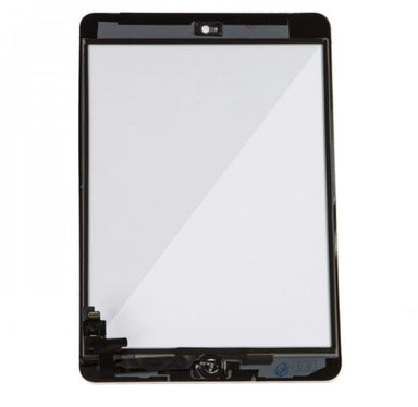 Apple iPad Mini 1 & 2 Front Glass / Digitizer w/ Home Button - White
