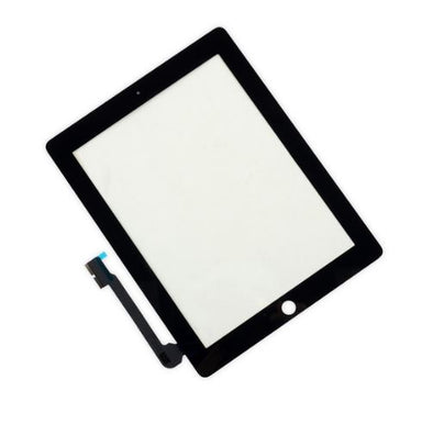 Apple iPad 4 Digitizer / Front Glass Panel Touchscreen - Black