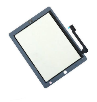 Apple iPad 4 Digitizer / Front Glass Panel Touchscreen - White