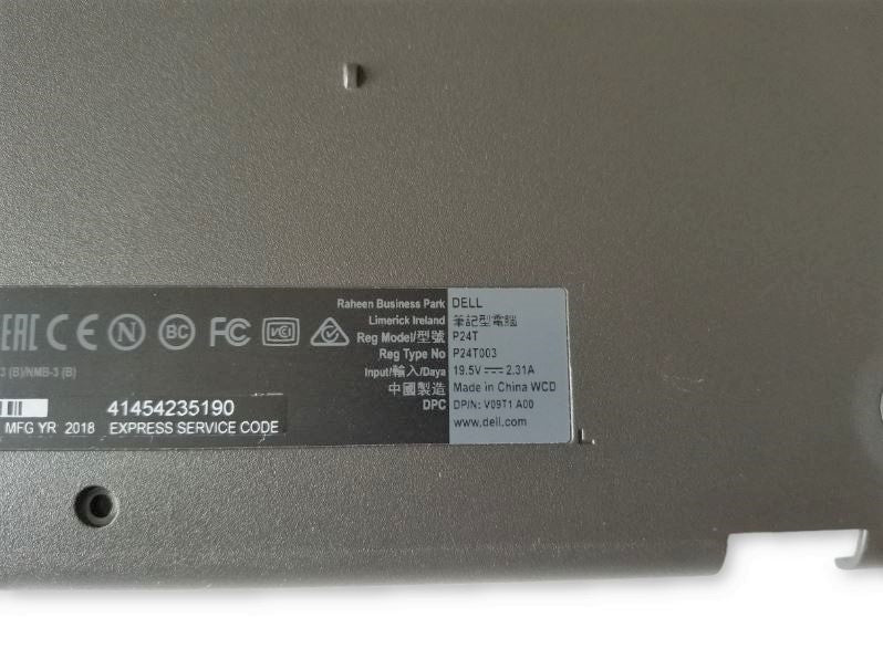 Dell Inspiron 3180 (P24T003) Bottom Cover - 03G3YV / 3G3YV