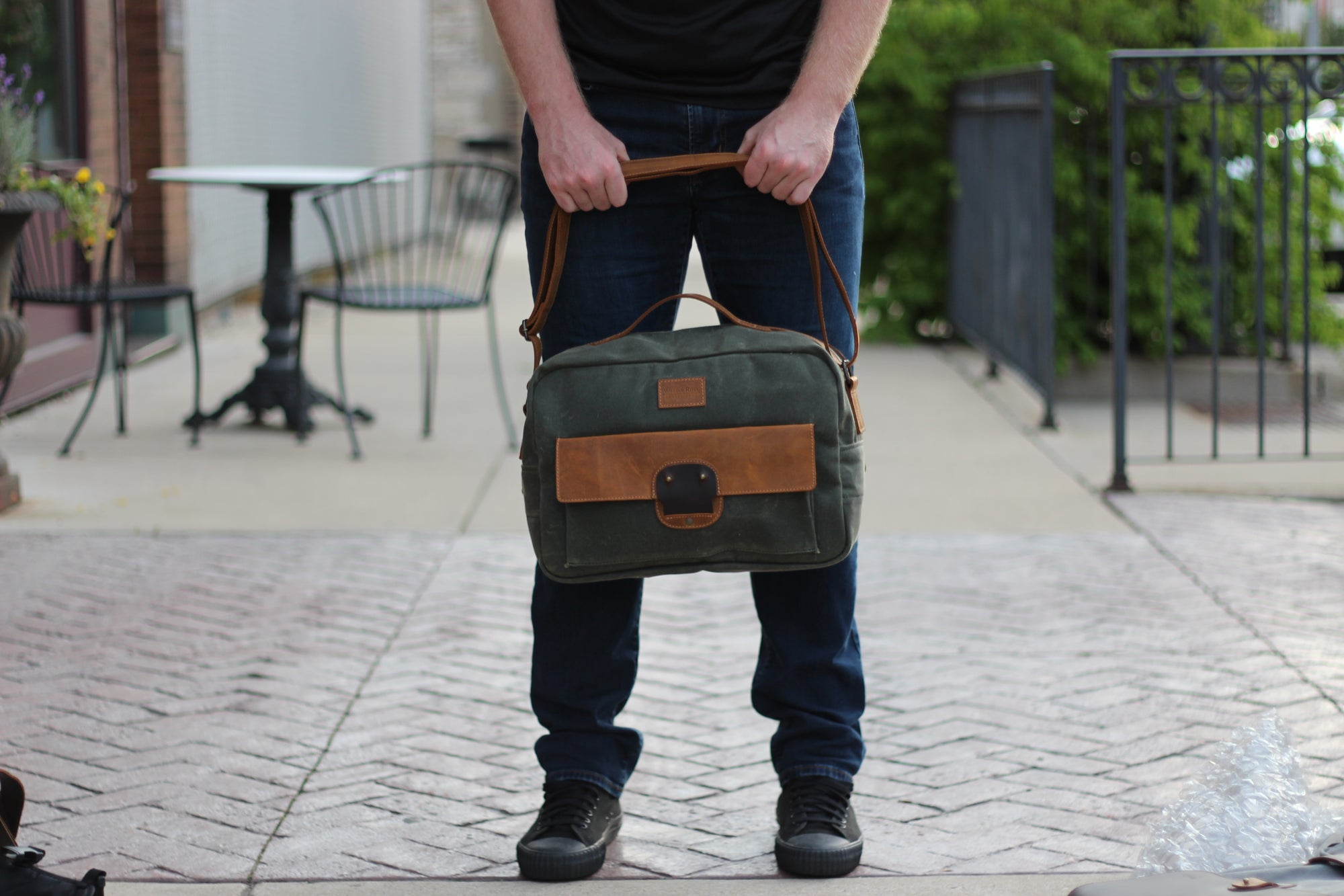 WHY CARRY A TRAVEL/MESSENGER BAG?