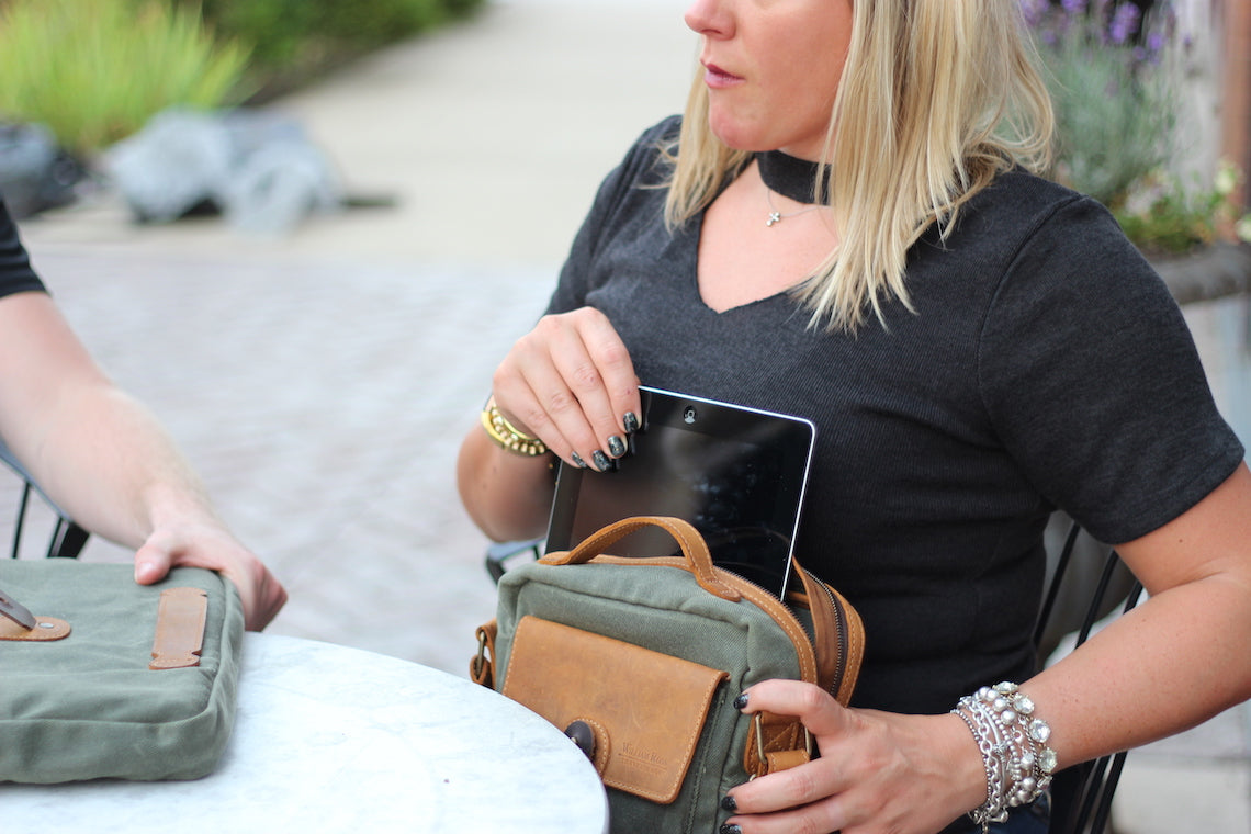 crossbody satchel thats easy to take on the go