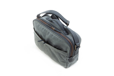 Our William Ross weatherproof travel bag have two back hidden zipper pockets to hold your passport while waiting in line at the airport.