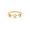 14k gold heart ring - LODAGOLD